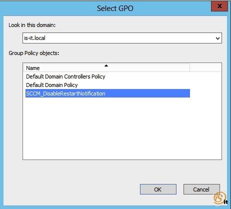 Hide restart notification – SCCM 2012